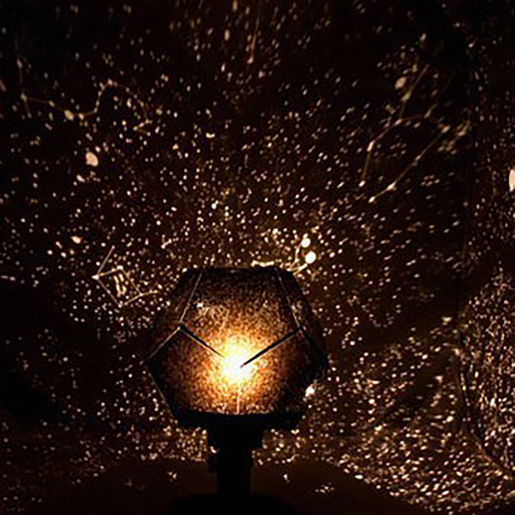 2019 hot new products Romantic Planetarium Star Projector Cosmos Light Night Sky Lamp Accessories decoration home tool Home