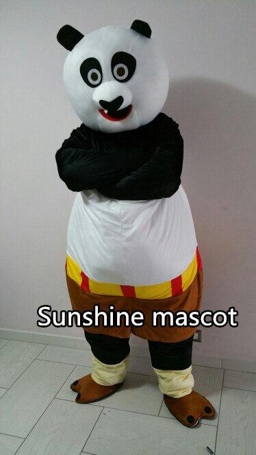 Haute qualité adulte Kungfu Panda mascotte Costume Kung Fu Panda mascotte Costume Kungfu tigre fantaisie robe livraison gratuite