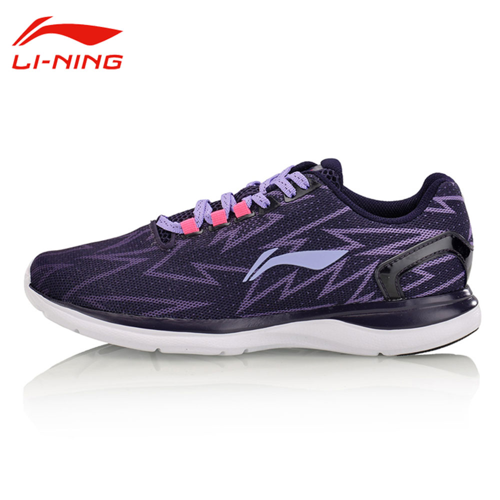 Li Ning Women s Light Runner Running Shoes Textile Breathable Sneakers Wear Resistance LiNing Sports Shoes