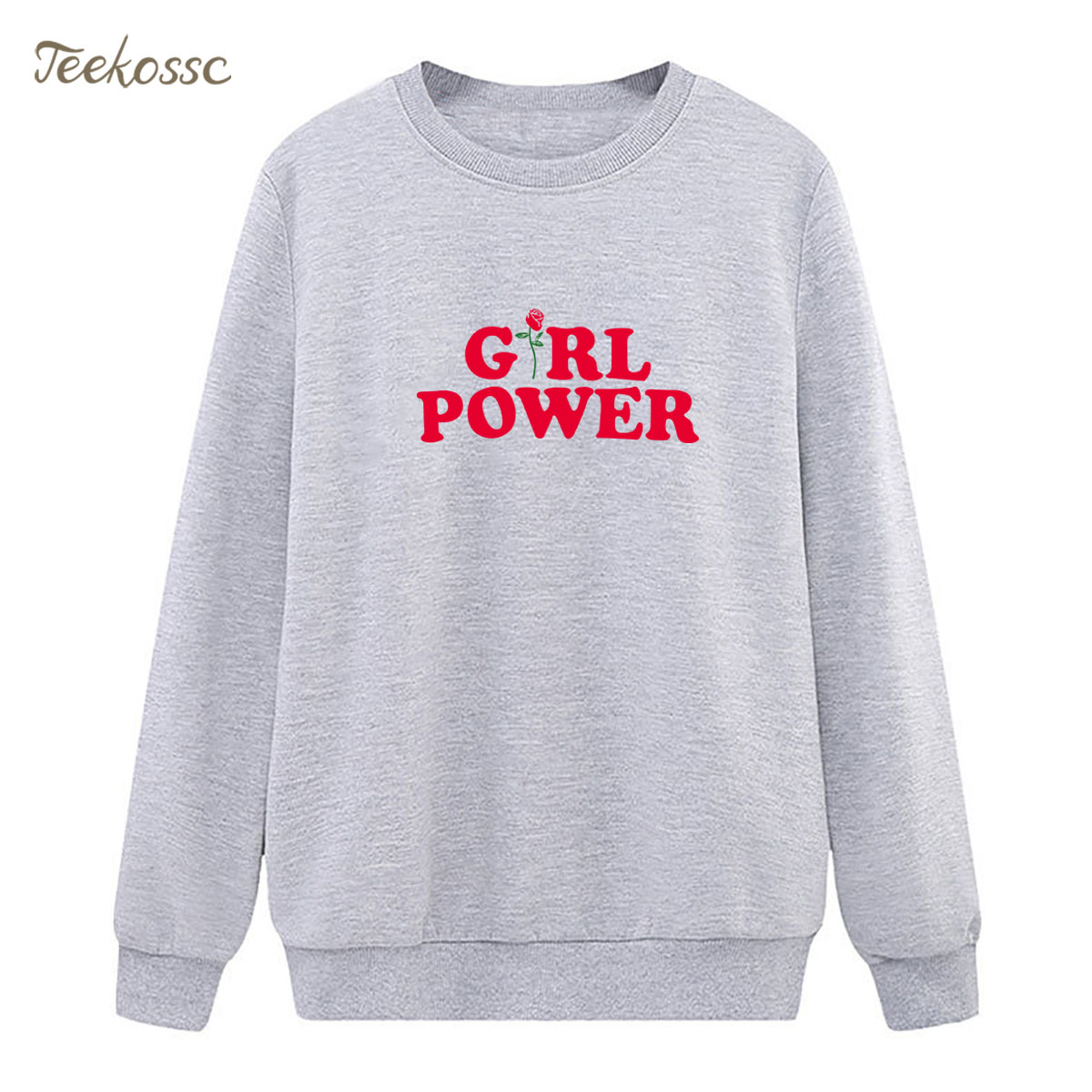 Girl Power Sweatshirt Hoodie 2018 New Brand Winter Autumn Women Lasdies Pullover Fleece Loose Streetwear Feminism Casual Hoody