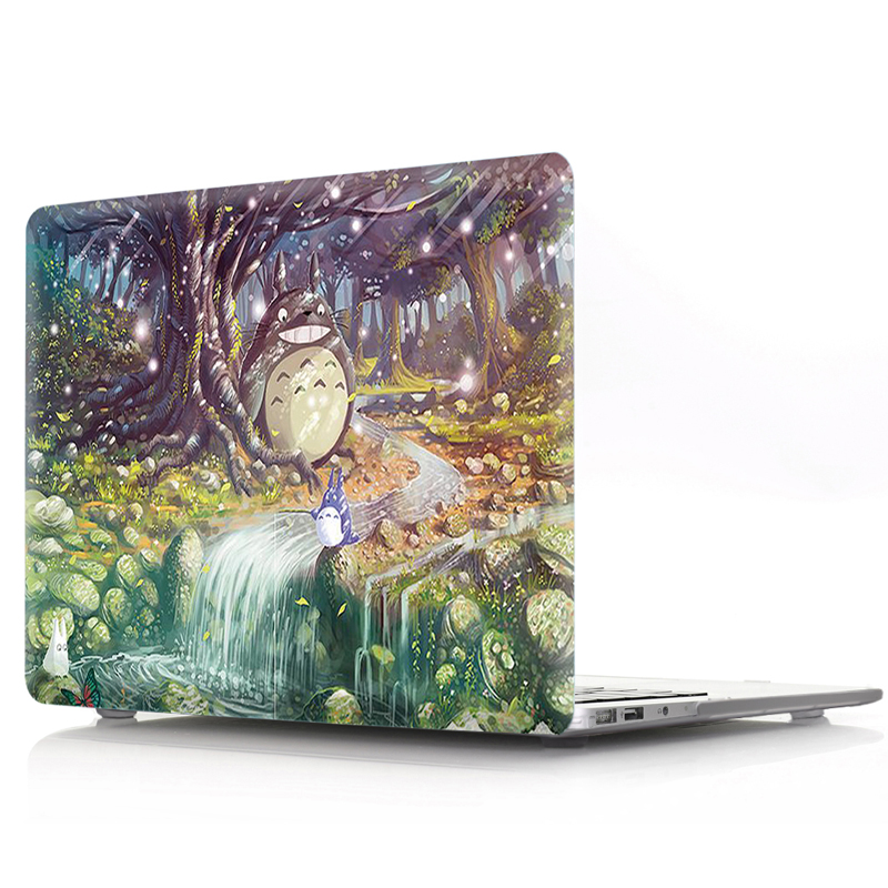 Totoro Laptop Case With Keyboard Cover 1