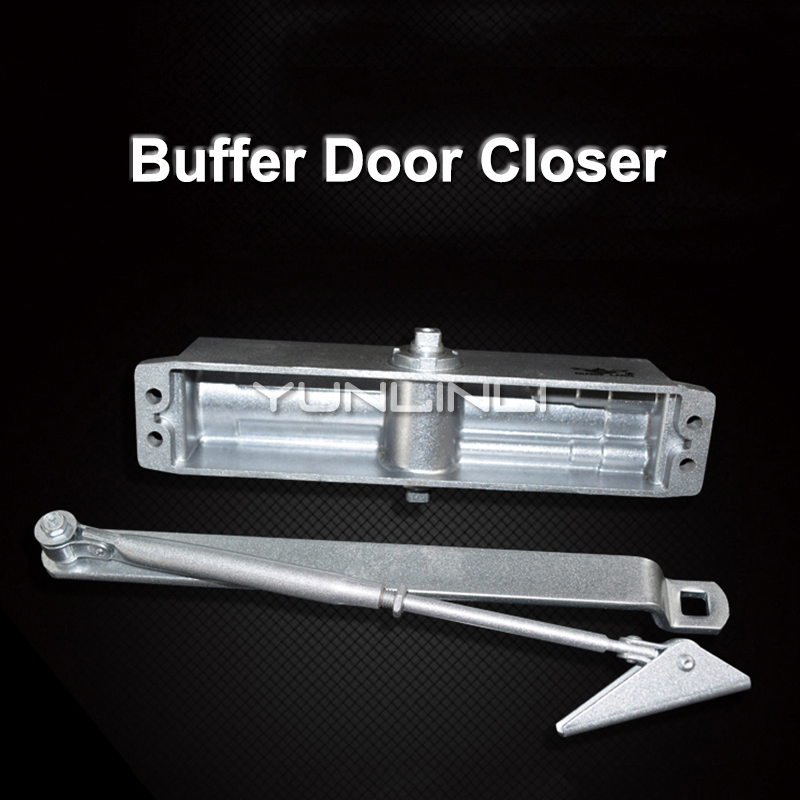 Hydraulic Buffer Door Closer With Weight Bearing 180kg Strong And Sturdy Automatic Positioning And Closing Door Hardware Hydraulic Buffer Door Closer With Weight Bearing 180kg Strong And Sturdy Automatic Positioning And Closing Door Hardware