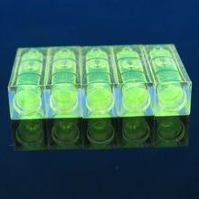 プロモーション!! 5 ピース/ロットサイズ 10*10*29 ミリメートル正方形 PMMA バブルレベルアクリルシェル精神レベルバイアルテレビラック