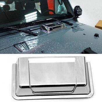 Gümüş Isıtıcı Hava Davlumbaz Kepçe 2007-2017 Jeep Wrangler için