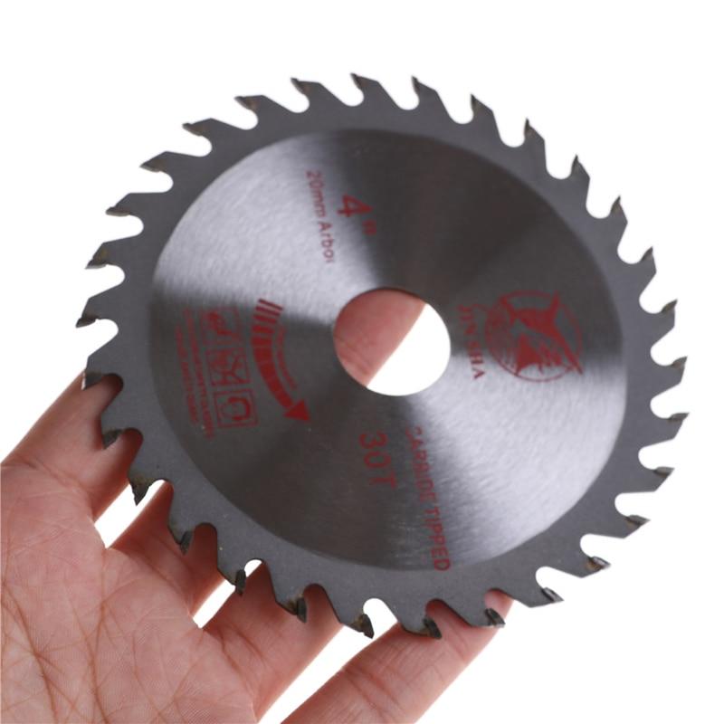 Aluminum Iron Plate Power Tools  Alloy Steel Circular Saw Blade 30 Teeth Wheel Discs For Cutting Wood 4''/110mm