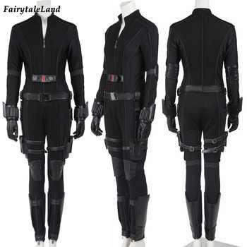 Captain America Civil War Black Widow Cosplay Costume Natasha Romanoff cosplay Captain America costume Black Widow custom made - DISCOUNT ITEM  37% OFF All Category