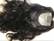 finest european virgin hair kosher HAIR TOPPER , not wig  , unprocessed hair jewish hair topper  free shipping
