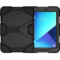 galaxy s4 Case For Samsung galaxy Tab S4 10.5 inch T830 T835 Waterproof Shock Dirt Snow Sand Proof Extreme Heavy Duty Kickstand Cover (1)