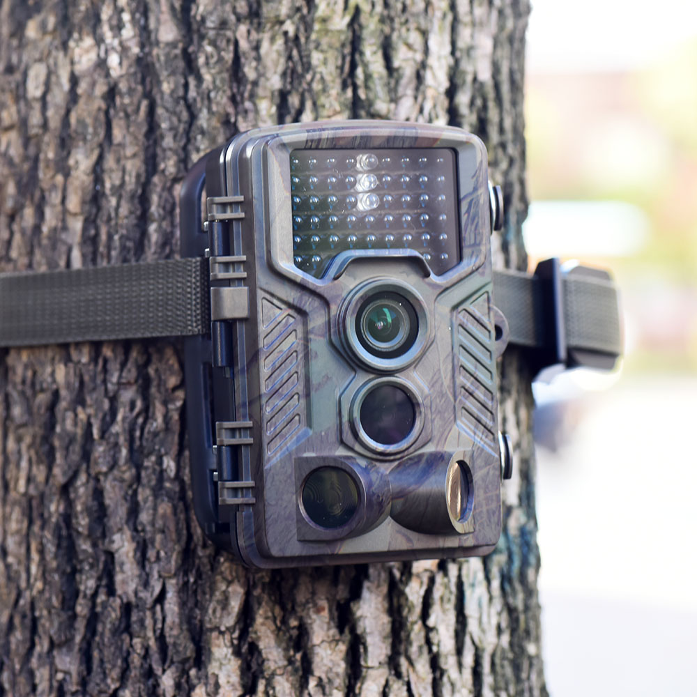 12MP Wildlife <font><b>Hunting</b></font> <font><b>Camera</b></font> Infrared Night Vision 1080P Video Scouting Game <font><b>Trail</b></font> <font><b>Camera</b></font> Waterproof image