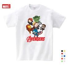 Free Shipping 2019 T-shirt Superman/Batman/spider Man/captain America /Hulk/Iron Man / T Shirt Boy Girls Printing T-shirts