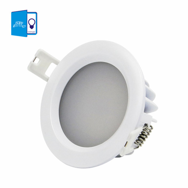 dbf ip65 led downlight waterproof 5w 7w 9w 12w 15w led spot light