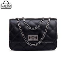 Hot Women Messenger Bags 2017 High Quality PU Leather Famous Brands Design Women Bag Luxury Classical Women Handbags C0391/l