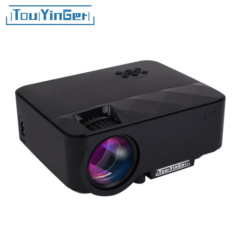 Buy touyinger q7 mini portable led for Portable lcd projector reviews