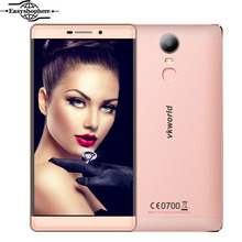 6 Inch Original Vkworld T1 Plus Smartphone 4G LTE 2GB RAM 16GB ROM Quad Core MT6735 4300mAh 13MP Fingerprint ID Metal Phone