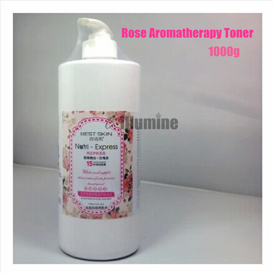 15 sorts of Plants Pure Natural Rose Extract Toner Replenishment Moisturizing Beauty Salon Witening 1000g pure natural radix sophorae flavescentis extarct kuh seng extract 100g lot