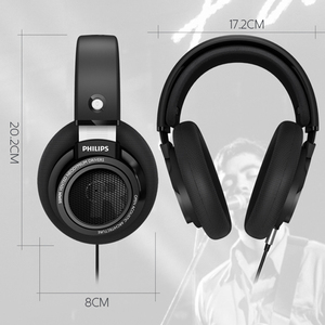 Image 3 - Philips auriculares SHP9500 originales HIFI con cable de 3m de largo, auriculares con reducción de ruido para huawei, xiaomi S8, S9, MP3