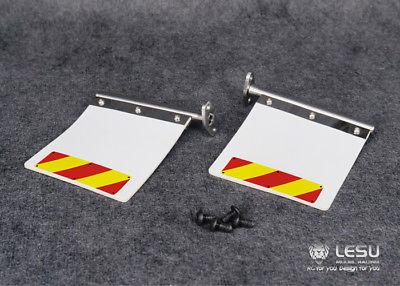 Rc-lastwagen Lesu Metall Hintere Schlamm Platte Für 1/14 Tamiya König Ritter Gl Rc Lkw Traktor Auto Th02265 100% Original