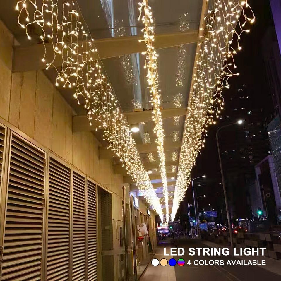 5M 16.4ft droop 0.4m 0.5m 0.6m LED String Lights C...