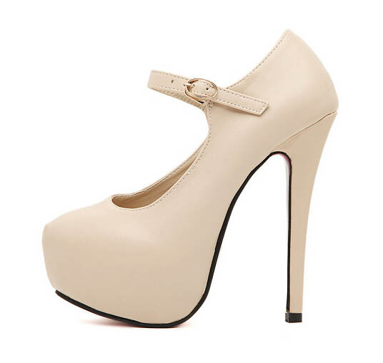 Zapatos beige para mujer zSj67hP6TI