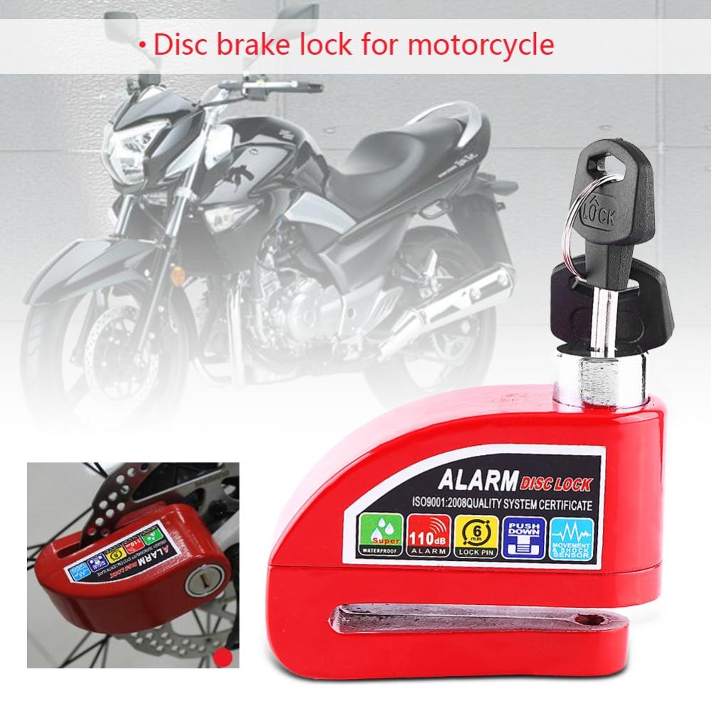 Security Anti Thief Disc Lock Padlock Fit Motorbike Motorcycle Bike Scooter Motorbike Disc Lock
