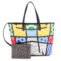 ROMERO BRITTO Hot Sale Handbags 2017 New Ms. Messenger Large Capacity Graffiti Shoulder Bags Handbags European & American Style