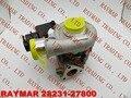 MHI Подлинная турбокомпрессор 49135-07300, 49135-07302 для HYUNDAI Santa Fe 2.2L 4 Евро 28231-27800