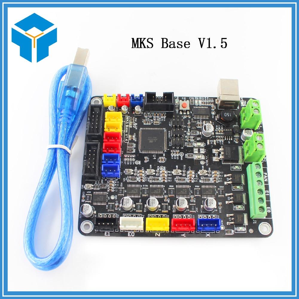 3D components integrated motherboard materinskaya plata compatible Mega2560&RAMPS1.4 RepRap Mendel similar to MKS BASE V1.5