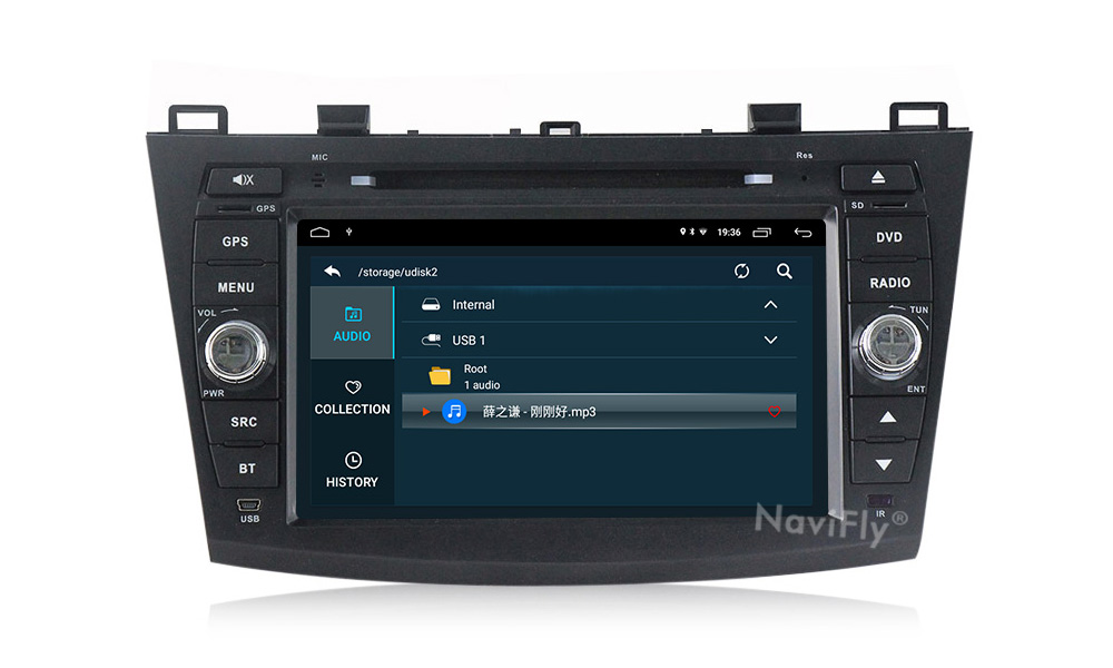 Clearance Android 9.1 Car Radio Multimedia for Mazda 3 Mazda 3 maxx Axela 2010-2013 2din car dvd gps navigation player headunit 13