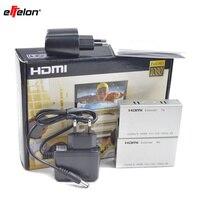 Effelon 1080 P HDMI Extender HDMI Émetteur Récepteur sur Cat 5e/6 RJ45 Ethernet Convertisseur avec adaptateur secteur