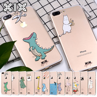5 iphone 5s For funda iPhone 5S case 5 5S 6 6S 7 Plus Dinosaur soft silicone TPU for coque iPhone 6S case new arrival for capa iPhone 7 case (1)