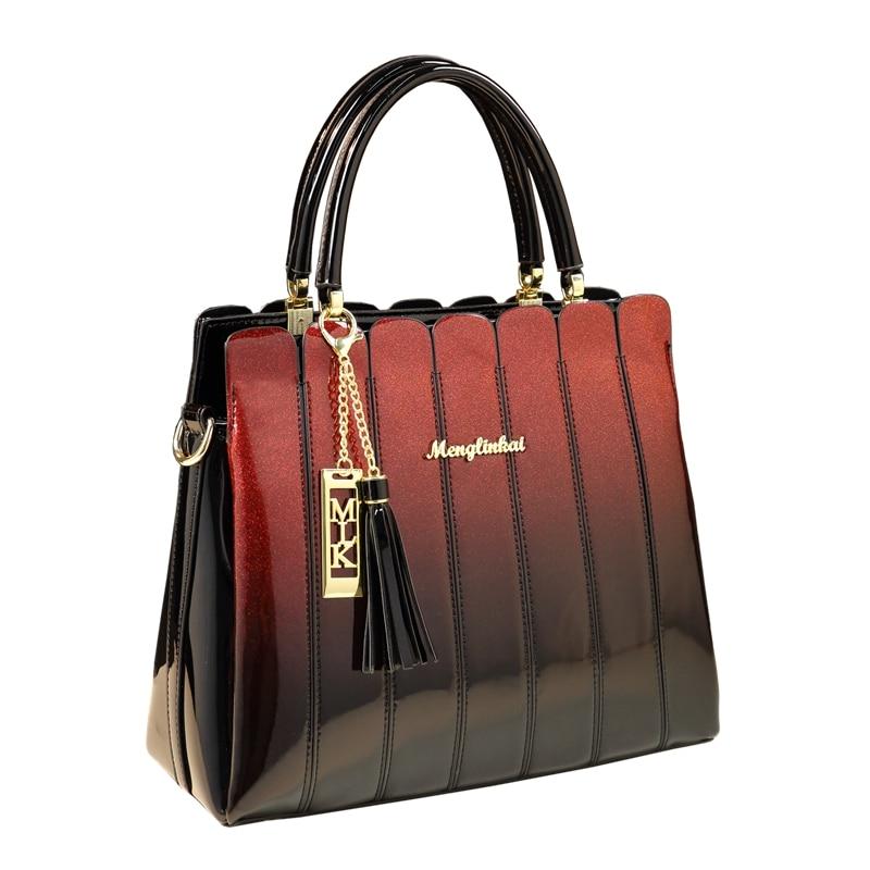 ICEV nouveau Designer de mode européen sacs à main de haute qualité sacs en cuir Patnet sacs à main femmes marques célèbres femmes sacs à main en cuir