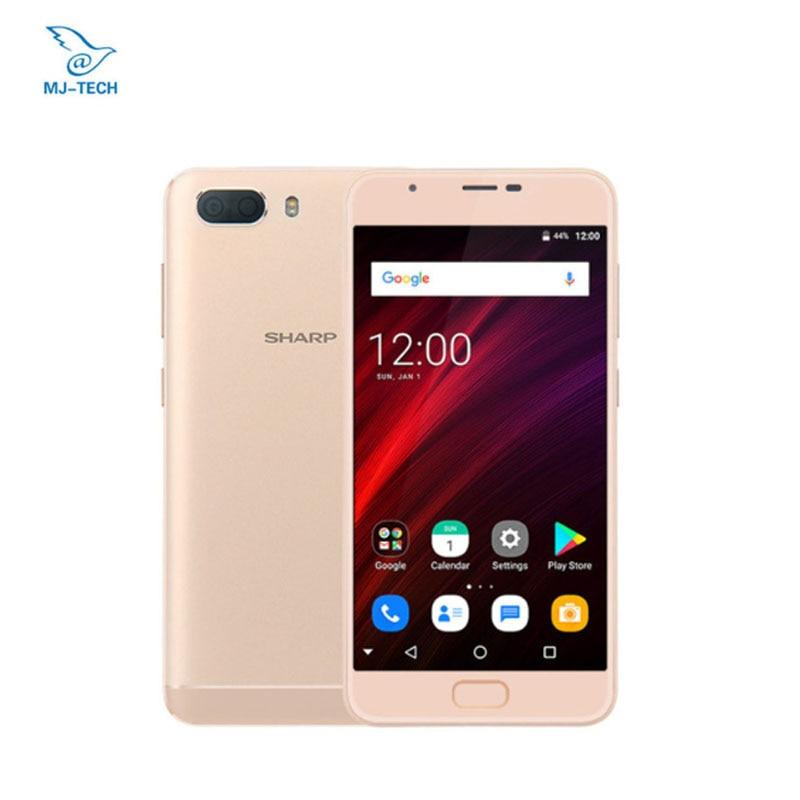 Global Version SHARP R1S FS8028 RAM 3G ROM 32G Smartphone 5.5'' HD IPS 2.5D Curved MTK6750 Octa Core 5000mAh 4G LTE Celphone