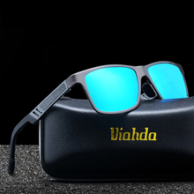 Aluminum magnesium HD polarized 2019 fashion Sun Glasses Mens Sunglasses Drivers Goggles Sun glasses Women Driving Glasse