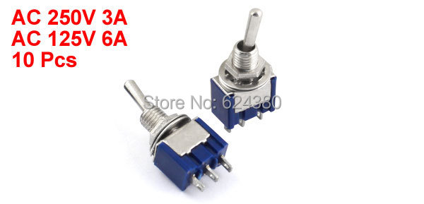 mts 103 spdt toggle switch 1p2t on off on 3 three position 3 pins rh aliexpress com