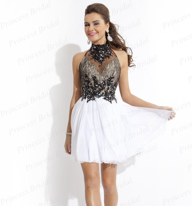 Compare Prices on White Halter Cocktail Dress- Online Shopping/Buy ...
