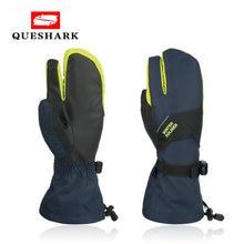 Перчатки для катания на лыжах и сноуборде мужчин женщин водонепроницаемые