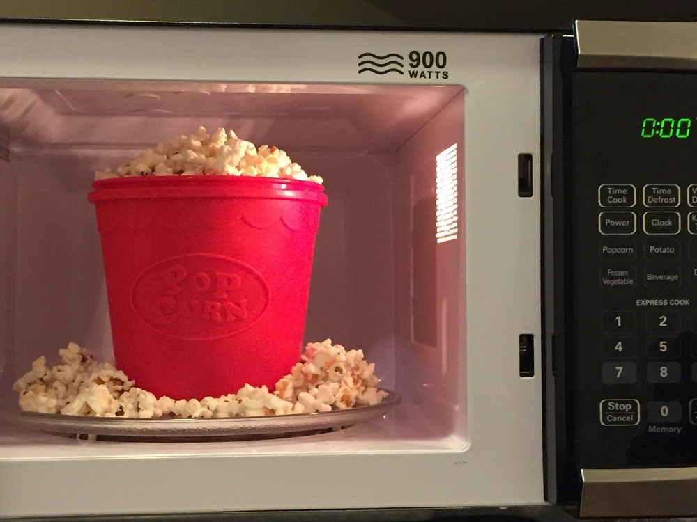as seen on tv silicone popcorn