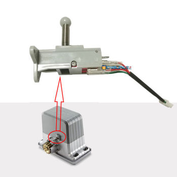 Limit Switch with Spring Replacement for PY1800 Slide Gate Opener sliding door spare part spring limit iron for our sliding gate opener