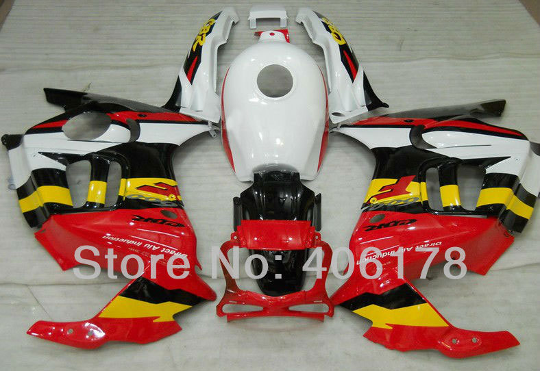 Hot Sales,Sports Bike Body Kit Fairing For Honda CBR 600 CBR600 F3 1995 1996 Multi Color Motorcycle Fairings (Injection molding)