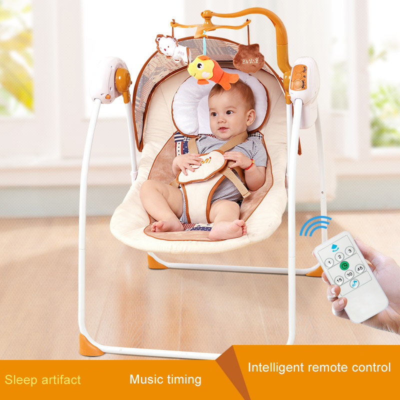 New Model Primi Auto-swing Baby Cradle Electricity Big Space With Mattress Bluetooth And Newborn Sleeping Bed 2017 new babyruler portable baby cradle newborn light music rocking chair kid game swing