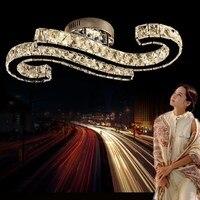 CreativeLuxury специальные Дизайн Led K9 Кристалл Стекло освещения потолка комплект светильники для столовой Спальня Гостиная Отель Home Decor