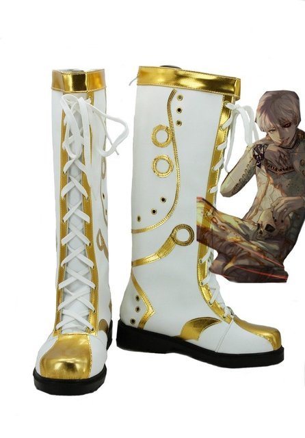 Tokyo Ghoul Anime Ghoul King Cosplay Shoes Boots Custom Made