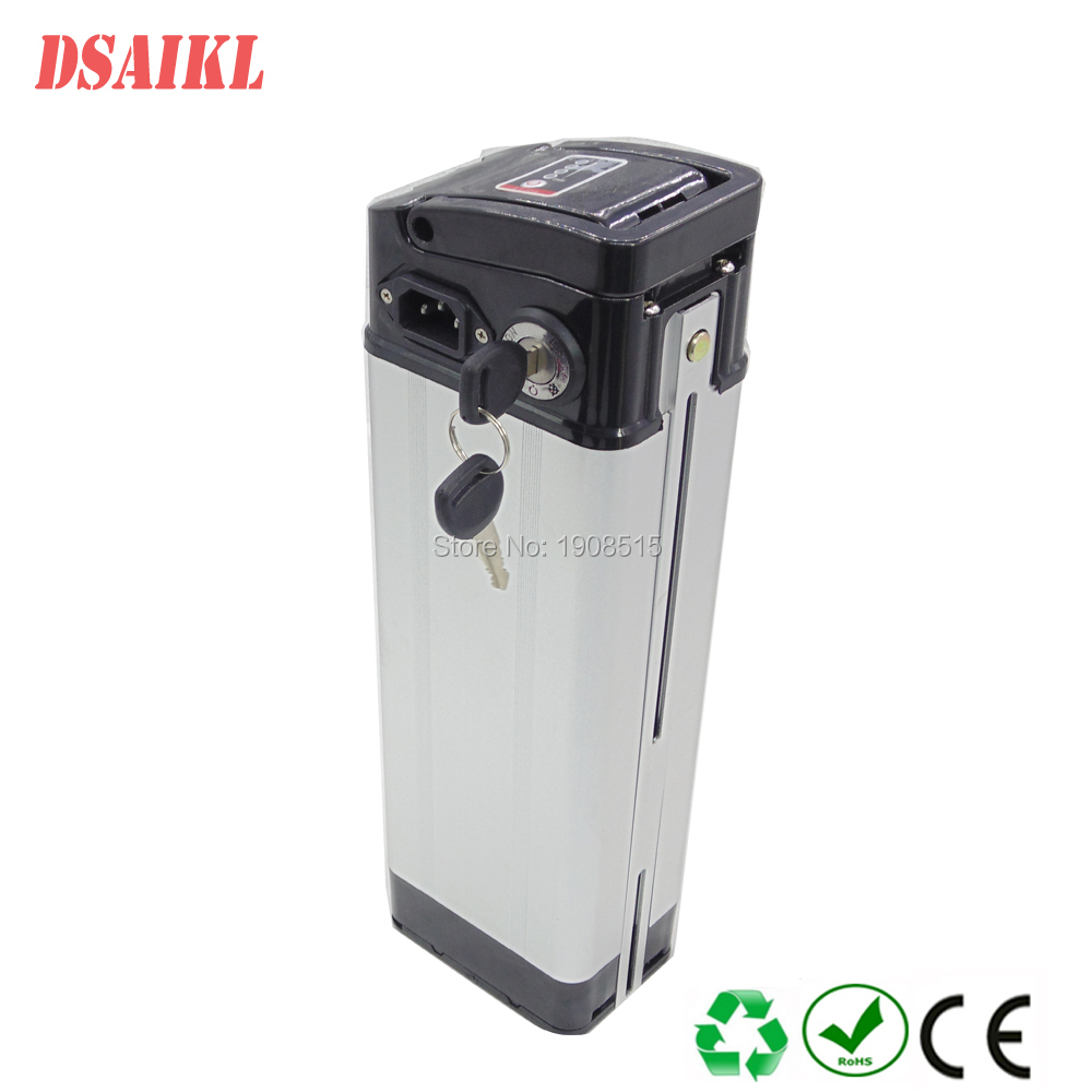 EU US AU no tax 250W Ebike battery pack 36v 10ah silver fish lithium battery with charger 5pcs lot no taxes 36v 10ah ebike battery pack 36 volt lithium ion battery with water bottle model