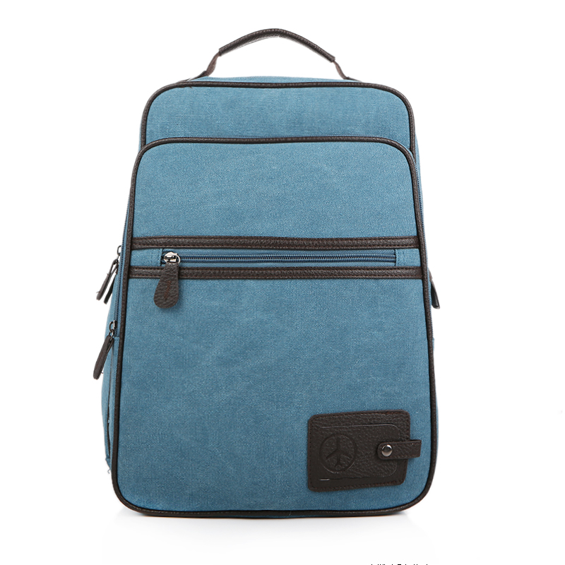 Fashion Canvas Travel Backpack Men Large Casual Male Laptop Backpack 14 Inch Leisure School Bags For Teenage Boys Rucksack 1112 canvas backpack women for teenage boys school backpack male
