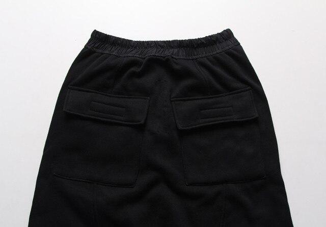 Mens joggers Casual trousers harem pants Men black Fashion swag dance drop crotch Hip Hop sweat pants sweatpants 4