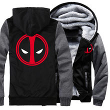 harajuku mans top X-men casual streetwear funny traksuit hoodies thick fashion fitness keep warm jacket