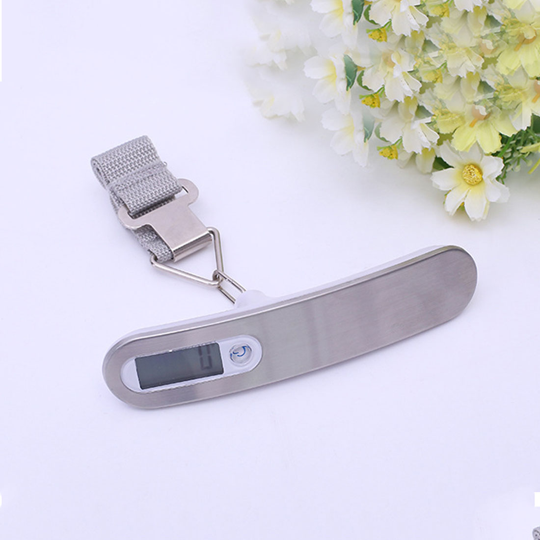 f69b631feb4a New 1pc Portable 50KG/10g Digital Luggage Scale LCD Electronic Hanging  Pocket Scale Weight Balance Data Hold Tare Auto Power Off