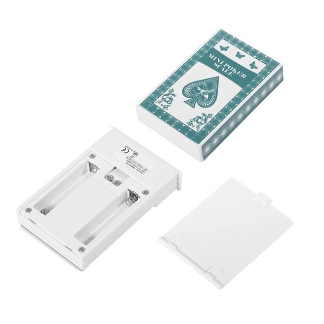 OUTAD 500g * 0,1g Poker Form Digitalwaage LCD Display Hochpräzise ...