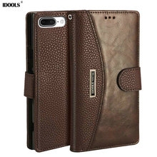 hot deal buy idools case for oneplus 5 5.5 inch pu leather wallet flip covers vintage original phone bags cases for one plus 5 1+5 a5000 capa