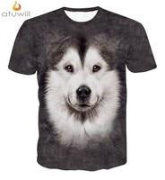 Atuwill Dier Hond 3d Gedrukt T-shirts Mannen Vrouwen Harajuku Tshirt Homme t-shirt Femme Camisetas Mujer Hiphop Tee Shirt